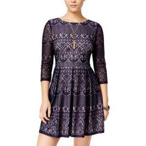 B. Darlin Blue Lace Dress